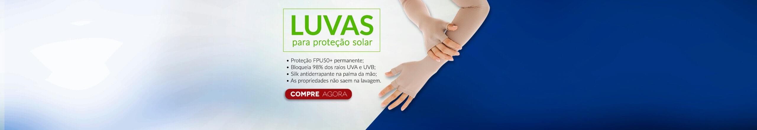 LUVAS DE PROTEÇÃO SOLAR