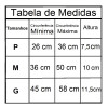 Tabela de Medidas do Cola Cervical